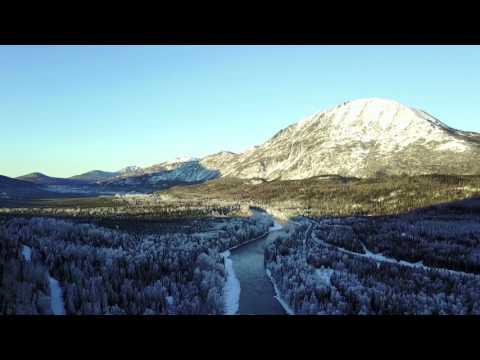 Cooper Landing, Alaska & Mavic Pro. Jan 2017
