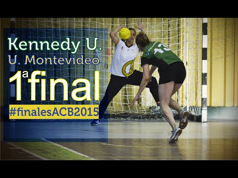 Handball ACB / Partido #5 / Primera final Liga Mayor Femenina 2015 / Univ.Montevideo vs Kennedy U
