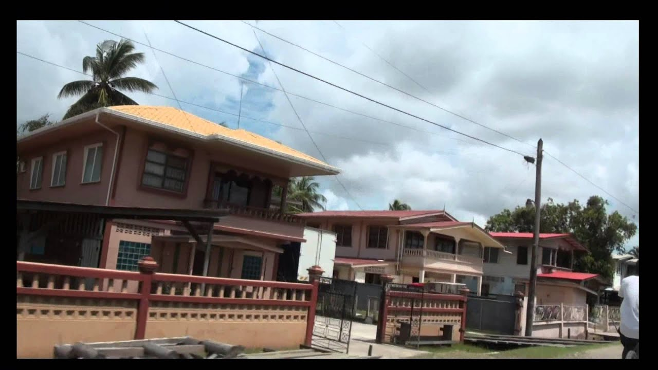 East Canje Berbice Rose Hall Canje Guyana Youtube