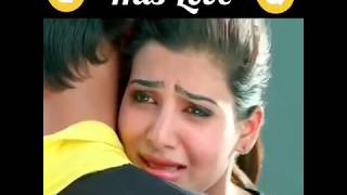 Best Heart Touching Movie Scene in Loving | Samantha