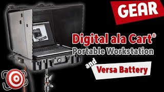 Digital ala cart - Portable Digital Workstation and the Versa Battery - A tethering power couple