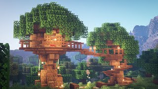 Minecraft: How to Build a Treehouse