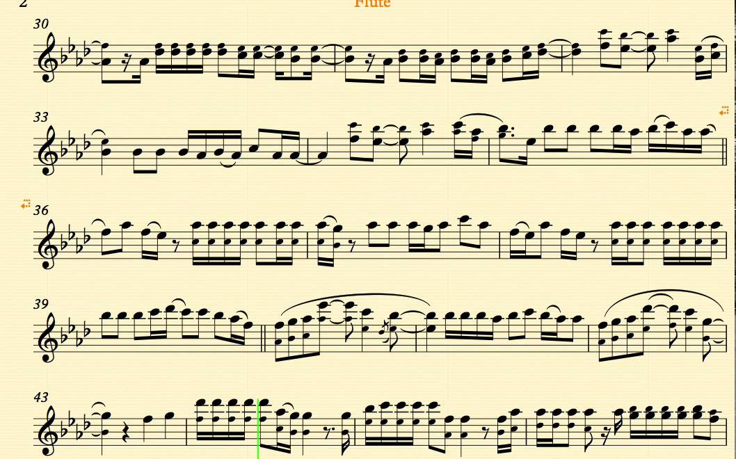 Heart Attack -- Demi Lovato - Flute - Sheet Music, Chords, and ...