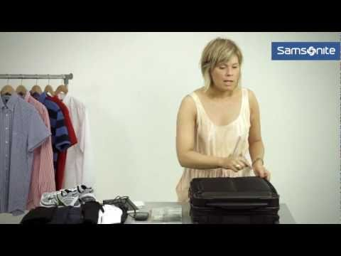 Samsonite - How to pack for a business trip?