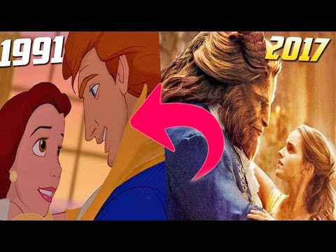 The Beauty and the Beast ⏩1991 - 2007 ⭐⌛🔸Differences and Curiosities   Disney®️ ⭐⌛🔸 🔥🕐💙 🐺  🤴🏼🌹👸