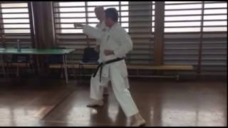 September 2016 Kyu and dan gradings - kumite demo 2