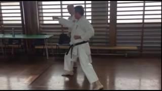 September 2016 Kyu and dan gradings - kumite demo 2