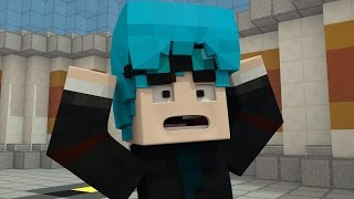 dantdm turns his hair blue the diamond minecart minecraft animation