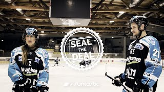 SEAL THE DEAL - Ice Hockey with Liwest Black Wings Linz