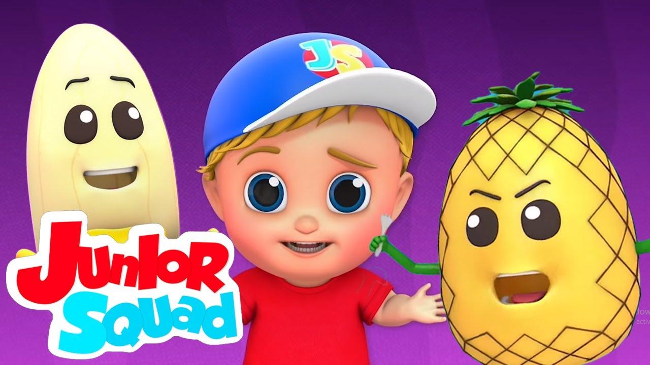 Será que eles vão nos comer | Canção infantil | Animação | Junior Squad Português | Desenho animado