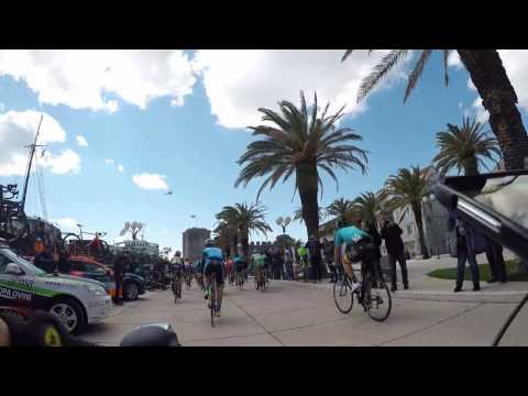 Tour of Croatia Start in Trogir  2017