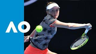 Anett Kontaveit v Aliaksandra Sasnovich match highlights (2R) | Australian Open 2019