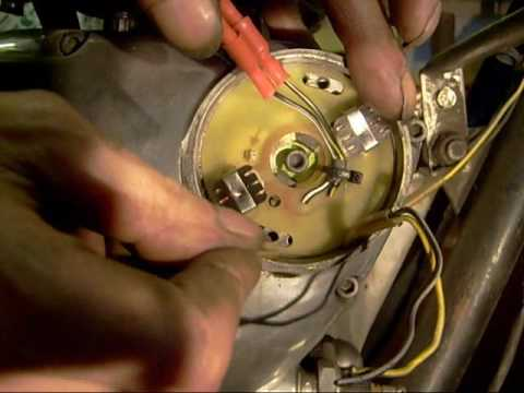 Fitting boyer ignition to my \u002773 Triumph T120R - YouTube