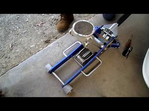 Hydraulic Floor Jack Bleeding & Fill