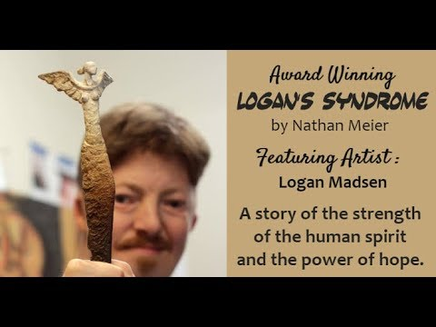 LOGAN'S SYNDROME Premiere/Art Exhibit, Artist Logan Madsen, SLC UT