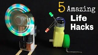 5 Amazing and Simple Life Hacks with LED - Everyone Should Know