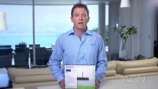 how to set up wireless on your 4 port wireless modem