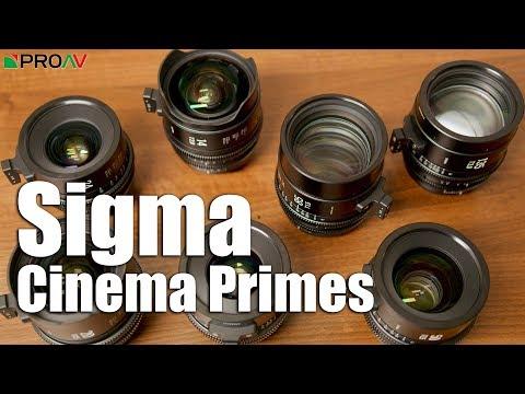 Sigma Cinema Primes - Overview