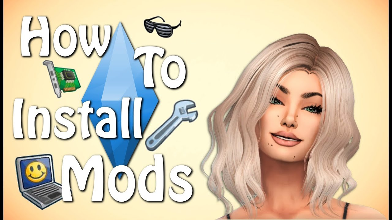 The Sims 4: HOW TO DOWNLOAD CC YouTube