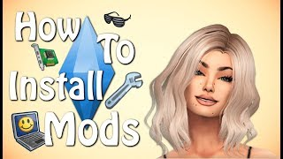 The Sims 4: HOW TO DOWNLOAD CC!!