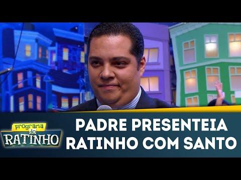 Padre Daniel Presenteia Ratinho Com Imagem De São Sebastião  | Programa Do Ratinho (22/05/18)