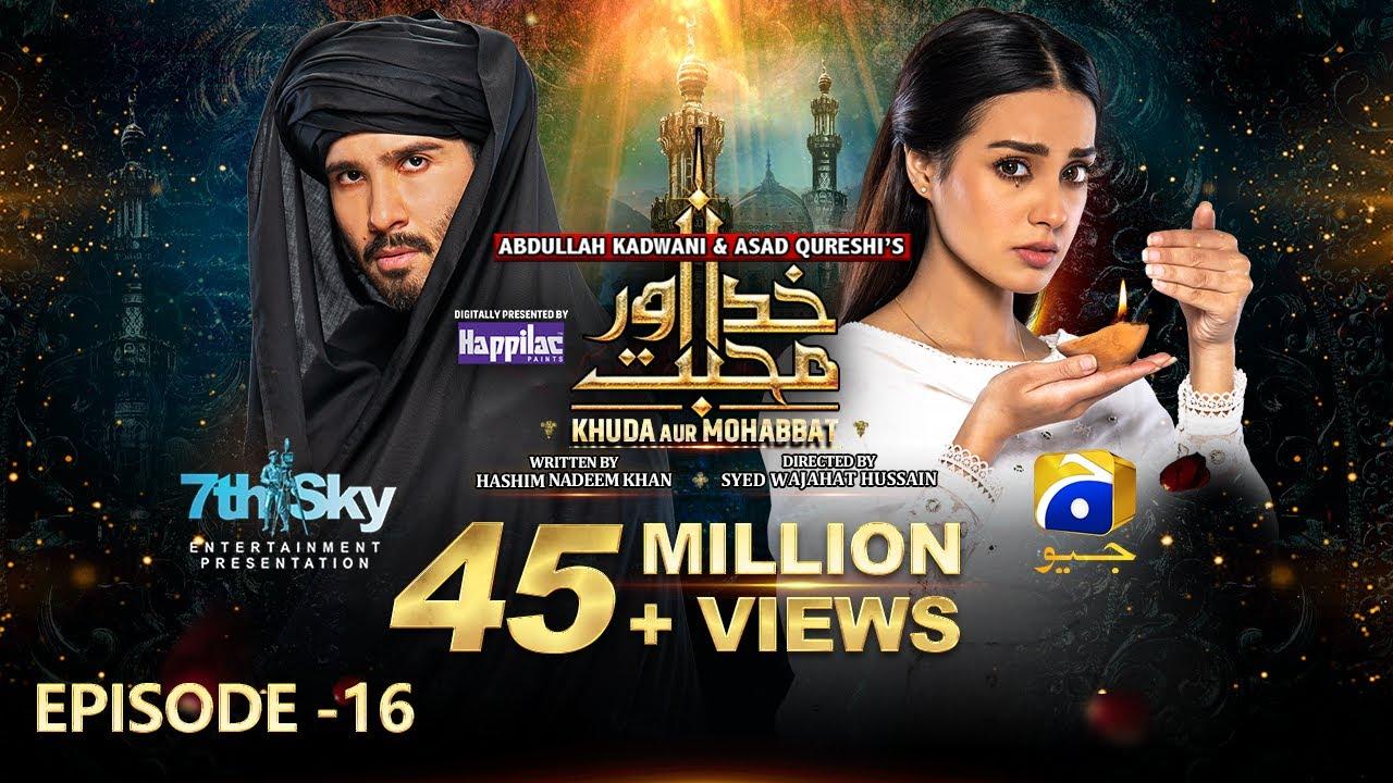 Download Khuda Aur Mohabbat - Season 3 Ep 16 [Eng Sub] - Digitally Presented by Happilac Paints - 28th May 21