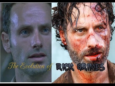 The Evolution of Rick Grimes