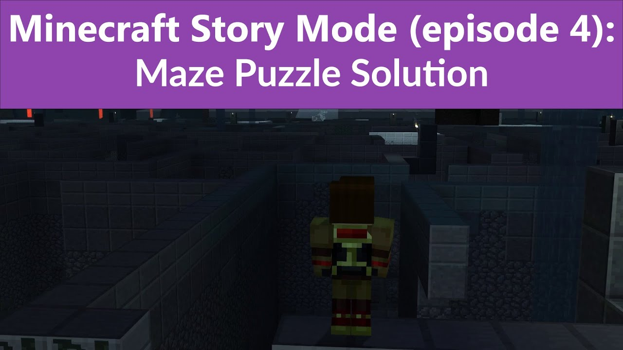 minecraft story mode episode 4 maze puzzle solution