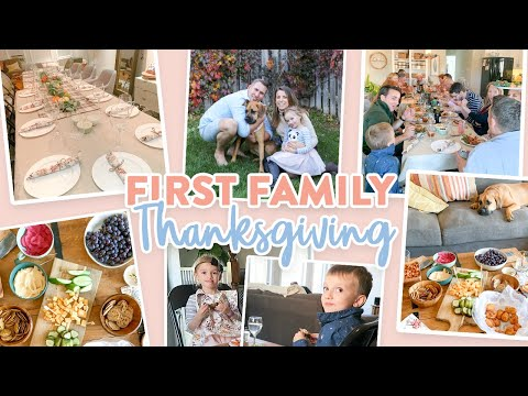 Hosting OUR FIRST Thanksgiving | Thanksgiving 2019 Vlog