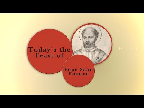 Saint of the Day — Pontian — August 13th