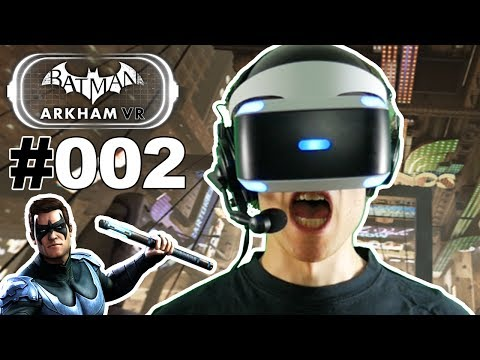 MORD IN GOTHAM CITY 🐲 Let's Play Batman Arkham VR #002 [Face