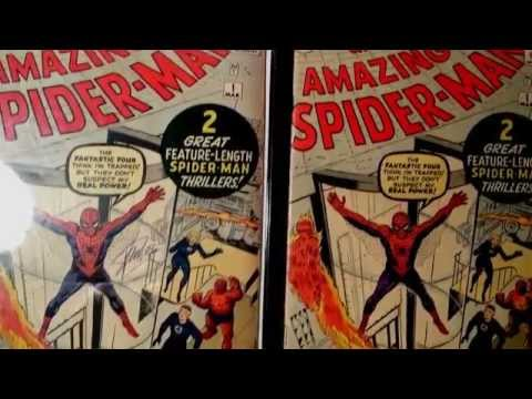 Original 1963 Amazing Spider-Man #1 Comic Book/ Let's Look Inside