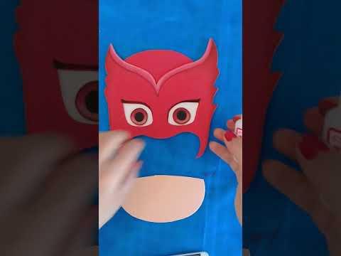 Pj Masks Corujita De Eva Passo A Passo Youtube