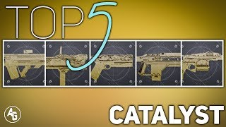 Top 5 Exotic Catalyst (YOU NEED THESE) | Destiny 2