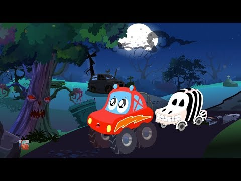 Хэллоуин Дерево | Хэллоуин песни для детей | детские песни | Halloween Tree | Little Red Car Russia