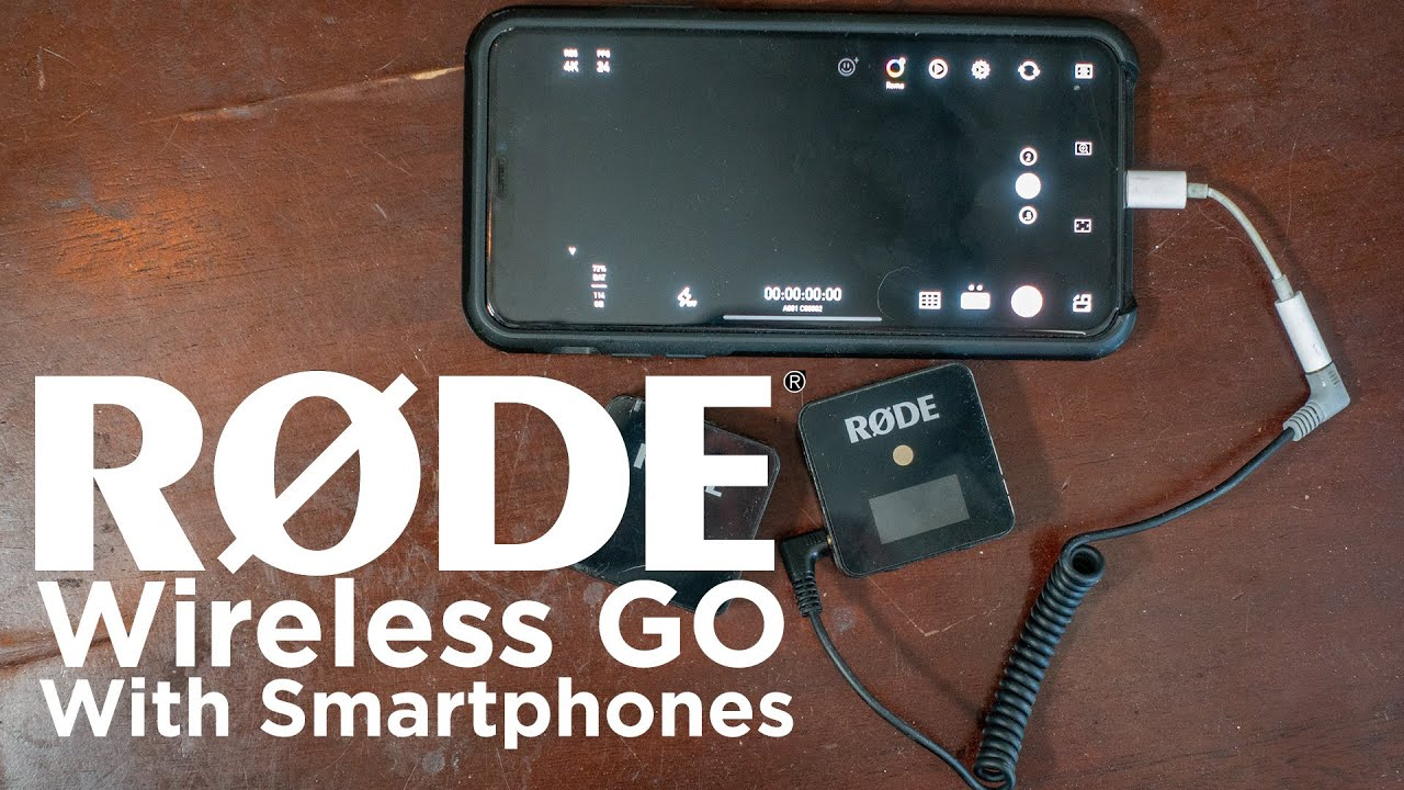 Rode Wireless GO with a Iphone / Smartphone