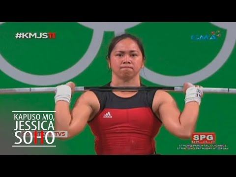 Kapuso Mo, Jessica Soho: Hidilyn Diaz, ang hero ng Olympics