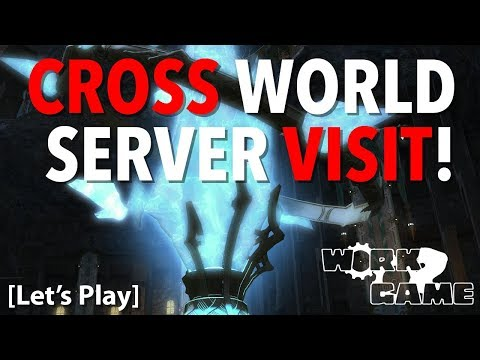 FFXIV Testing The World Visit System on Aether | Chill and chat night in 14