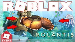 [EVENT ENDED!] How to get the Aquaman's Gladiator Armor! | Roblox Aquaman: Home is Calling