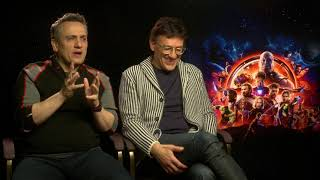 Avengers: Infinity War Directors, Anthony And Joe Russo Exclusive Interview.