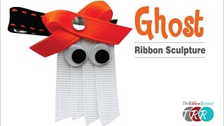 How to Make a Ghost Ribbon Sculpture - TheRibbonRetreat.com