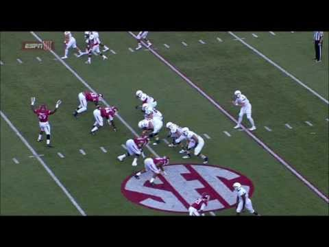 Darius Philon - Arkansas Football - DT - 2014 Northern Illinois Game