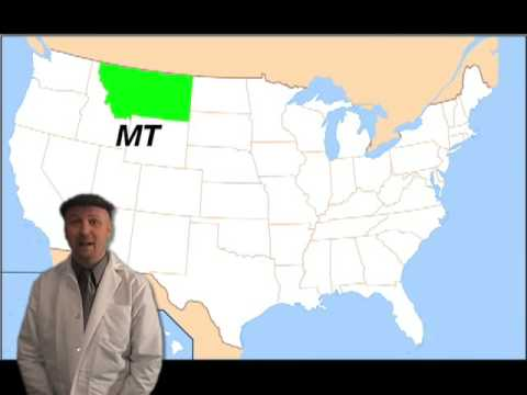 8 States That Begin With the Letter M.   YouTube