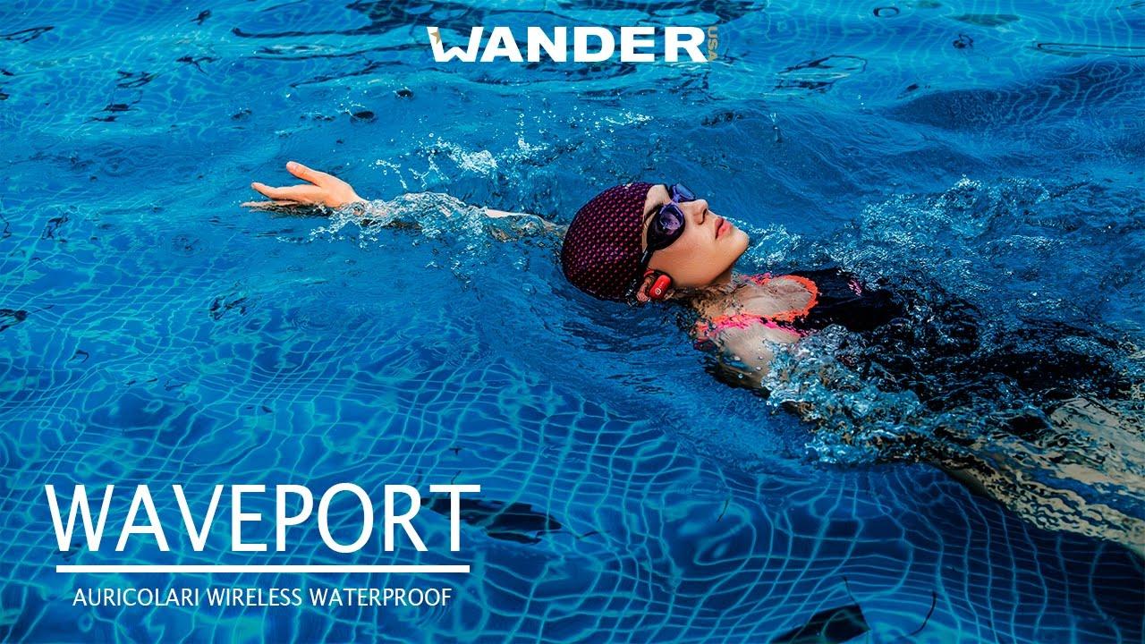 41041063139516 Waveport Auricolare Bluetooth Waterproof - YouTube