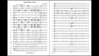 Marching Song by Gustav Holst/arr. John Moss