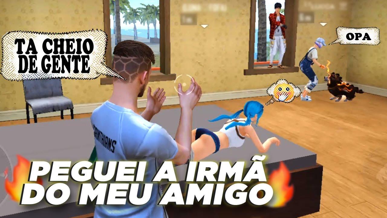 A IRMÃ DO MEU AMIGO GOSTA DE MIM (EP 88) - FREE FIRE HISTÓRIA