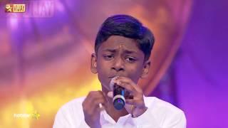Super Singer Junior - Then Madurai Vaigai Nadhi by Bhavin