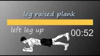 5 min Plank Workout with timer