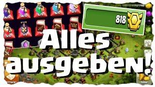 ALLES AUSGEBEN!! 💰 - SO GELINGT DER START AUF RATHAUS 11   Clash of Clans Deutsch   Let´s Play COC