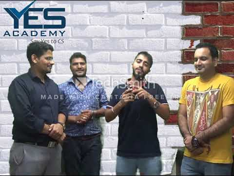 ALL THE BEST & CONGRATULATIONS CS Foundation Students | CS Vikas Vohra, YES Academy